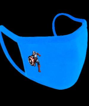 Παιδική Υφασμάτινη Μάσκα Captain America