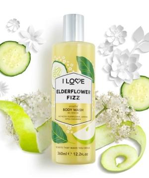 I LOVE Elderflower Fizz Bodywash