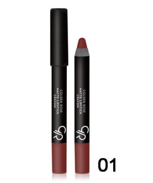 Golden Rose Matte Lipstick Crayon (28 αποχρώσεις)