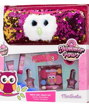 Martinelia Shimmer Paws Pencil Case & Beauty Set