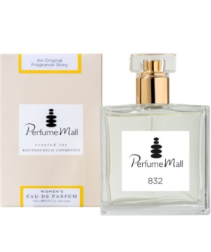 Perfumemall Women's EDP 832 (τύπου Black Opium - Yves Saint Laurent)