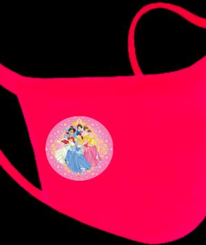Παιδική Υφασμάτινη Μάσκα Πριγκίπισσες