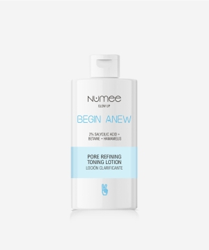 Numee - BEGIN ANEW – Pore Refining Toning Lotion