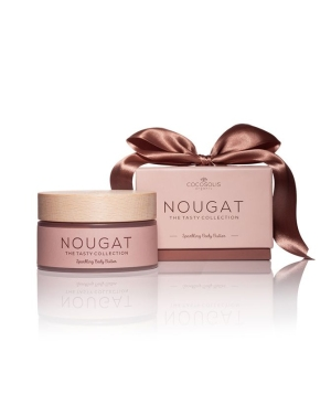 COCOSOLIS ORGANIC - NOUGAT Sparkling body & face butter, 250ml