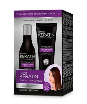 Kativa Keratin Post Alisado Xpress Kit