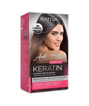 Kativa Keratin Alisado Anti Frizz Xtreme Care Kit