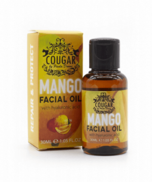 Cougar Beauty Mango Facial Oil With Hyaluronic Acid