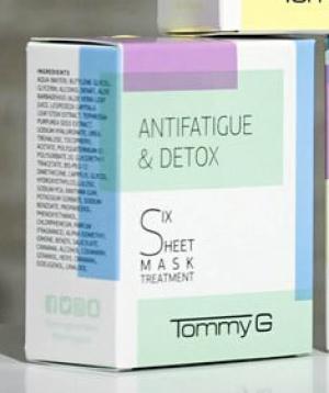 Tommy G Six Sheet Mask Treatment Antifatigue & Detox